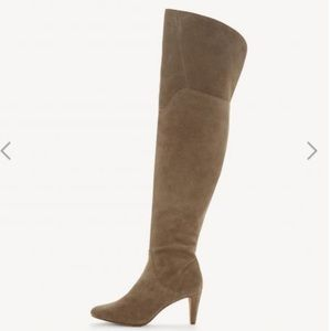 Over The Knee Suede Boots- Armaceli